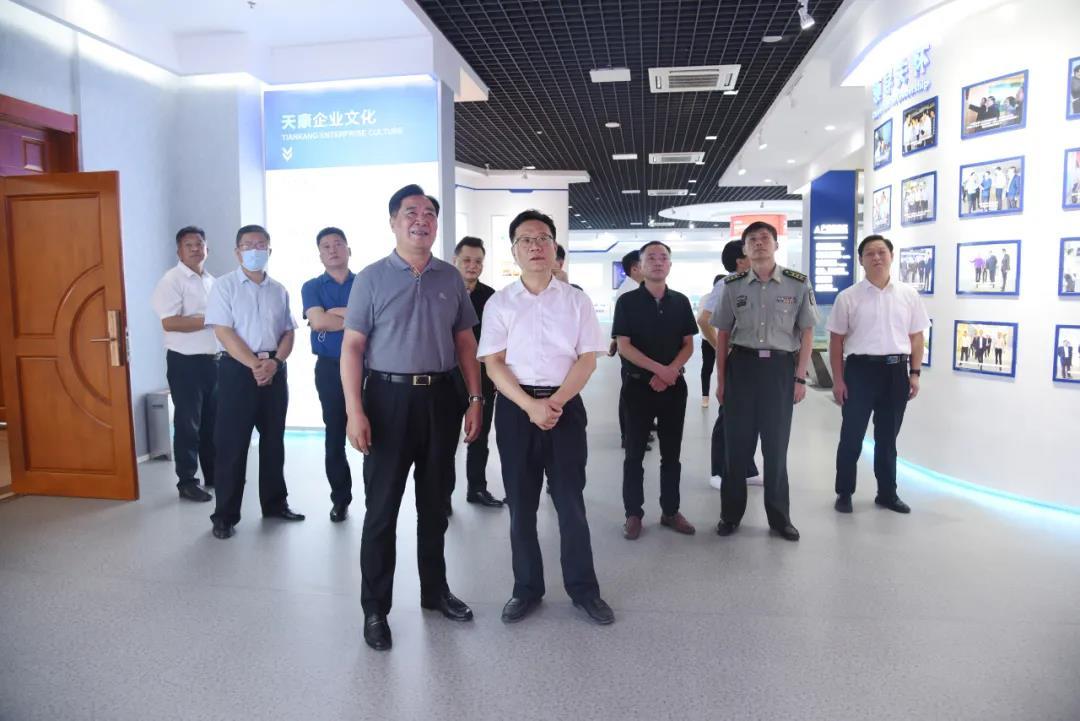滁州市退役军人事务局党组书记、局长丁勇一行莅临指导拥军优抚工作